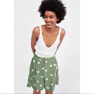 Brand new Zara polka dot shorts